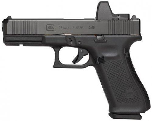 """Glock G17 G5 9MM 17+1 4.49"""" MOS FS"""