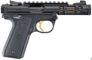 "Ruger Mark IV 22/45 Lite .22 LR 4.4"" Threaded Barrel 10+1"