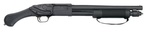 Mossberg 50638 590 Shockwave with Laser Saddle Pump 12 GA 14 3