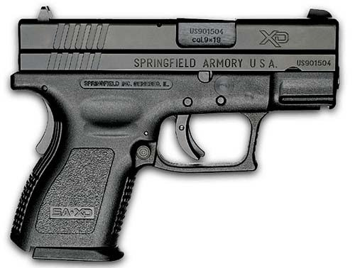 Springfield Armory XD Defender Subcompact 9mm Double Action 3 1