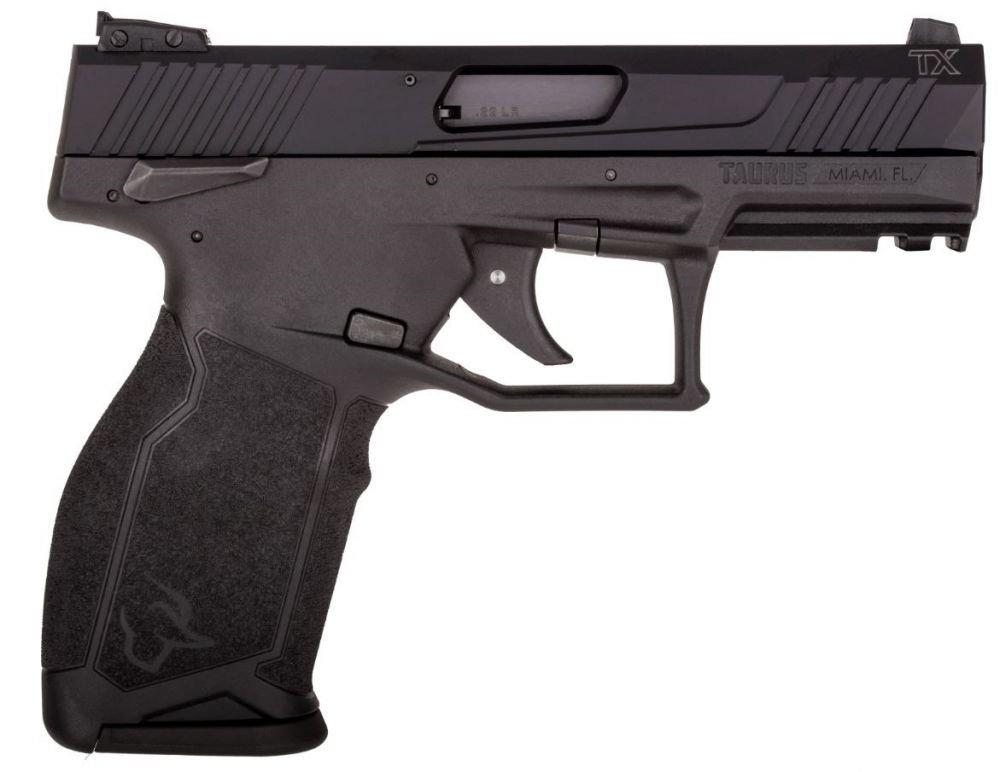 "Taurus TX22 .22 LR 4.1"" Black 16+1"