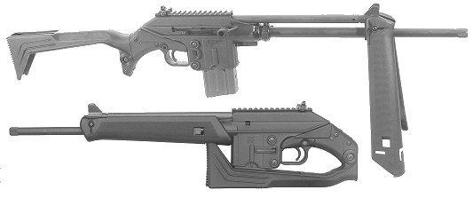 "KEL-TEC CNC SU-16C Sub-16 .223 16"" Carbine Folding Stock"