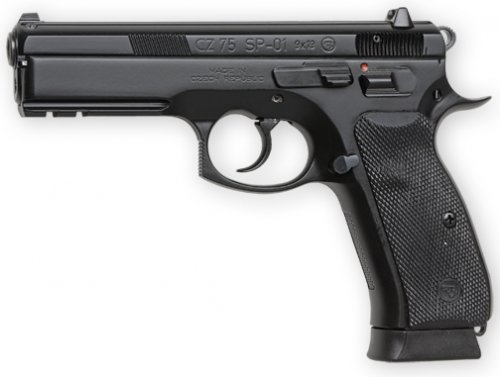 CZ-USA CZ 75 SP-01 18+1 9mm 4.6""