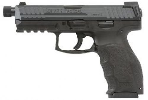 HK VP9 TACTICAL 9MM 4.7 Black Night Sights 3 15RD