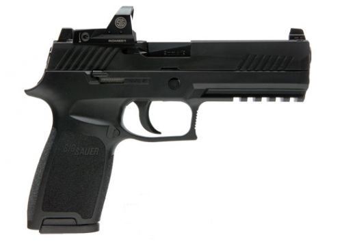 Sig Sauer 320F9BSSRX P320 Double Action 9mm 4.7 17+1 Black Poly