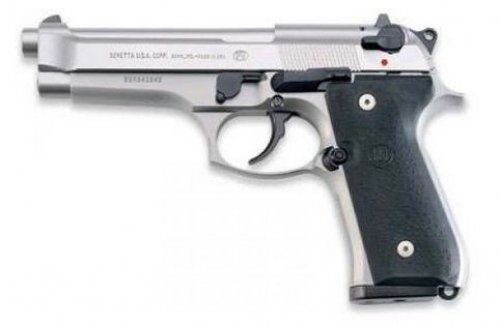 Beretta USA JS92F520M 92 Single/Double Action 9mm 4.9 15+1 Blac