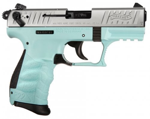 Walther Arms 5120362 P22 *CA Compliant* Single/Double Action .2