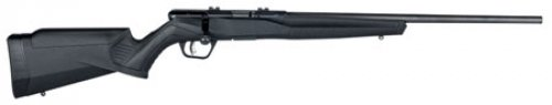 Savage 70801 B17 FV Bolt .17 HMR 21 10+1 Synthetic Black Stock