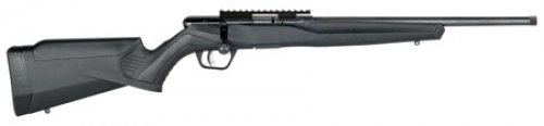 Savage 70803 B17 FVSR Bolt .17 HMR 16.25 10+1 Synthetic Black S