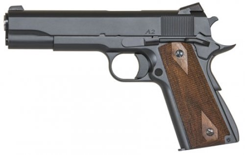 Dan Wesson 01946 1911 Single .45 ACP 5 8+1 Walnut Grip Blued