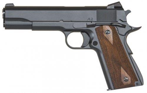 Dan Wesson 01946 1911 Single .45 ACP 5 8+1 Walnut Grip Blued