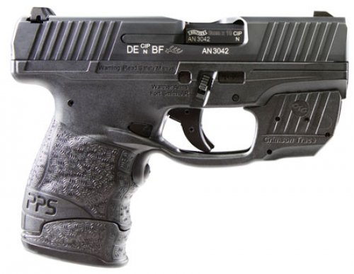 Walther Arms 2805963 PPS Single/Double Action 9mm 3.18 7+1 Crim