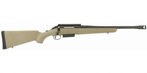 Ruger 16950 American Ranch Bolt 450 Bushmaster 16.12 3+1 Synthe