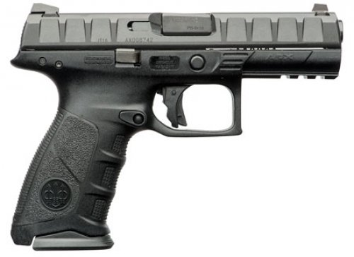 Beretta USA APX Single/Double Action 9mm 4.25 17+1 Black Interc