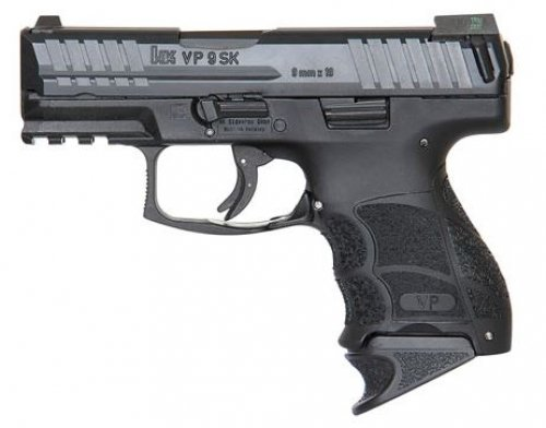 "Heckler & Koch VP9K 9mm 3.4"" Black, Night Sights, (3) 10rd Maga"
