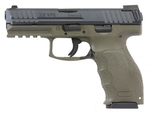 Heckler & Koch INC VP9 DOUBLE 9MM LUGER 4.09 15+1 3 MAGS Night