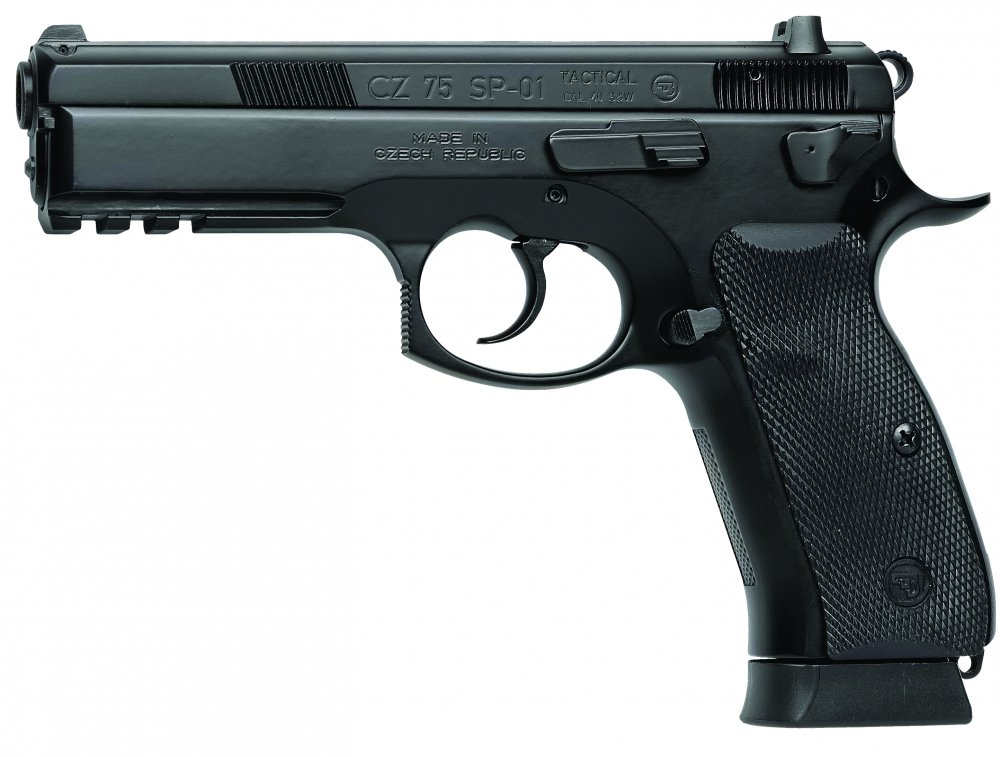 CZ-USA 91153 CZ 75 SP-01 Tactical 18+1 9mm 4.6""
