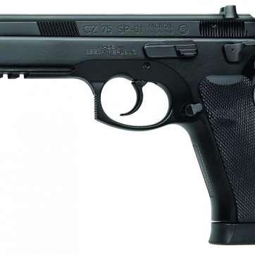 "CZ-USA 91153 CZ 75 SP-01 Tactical 18+1 9mm 4.6"""