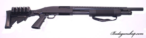 "Mossberg 500 Tactical Persuader 12 GA 18.5"" 6 Pos. Stock"