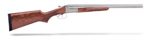 "STOEGER COACH GUN SUPREME 12GA 20"" NICKEL W/ AA-GRADE WALNUT"
