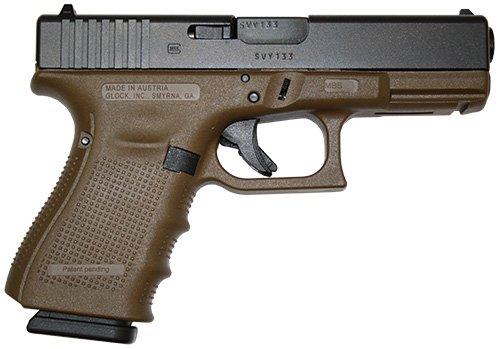 Glock G19 Gen 4 Flat Dark Earth 9mm