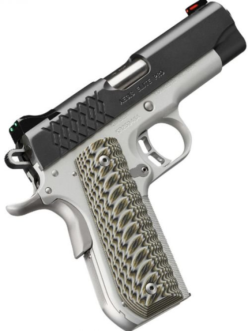 Kimber 3000349 Aegis Elite Pro Pistol - 45ACP, 4 IN. Barrel 8Rd