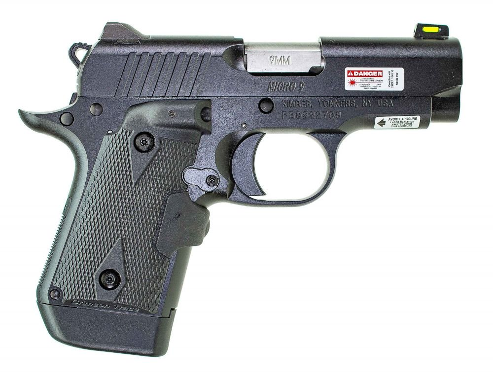 Kimber Round Show Micro 9(LG) 3in 9mm 7+1