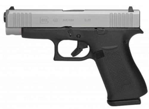 "Glock 48 Compact 9mm 4.17"" Ameriglo Night Sights 10+1"