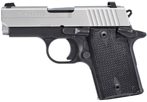 Sig Sauer NBS Exclusive P938 9MM Contrast Sight 2-Tone