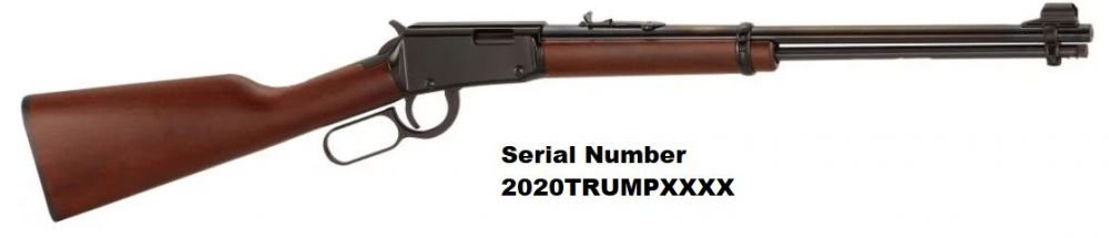 TRUMP Henry H001 Lever Action .22 LR Special Serial Number