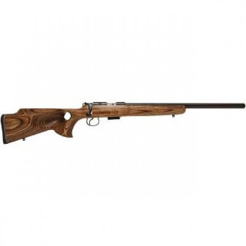CZ 455 THUMBHOLE .22 LR 20.7 BROWN LAMINATE 5RD