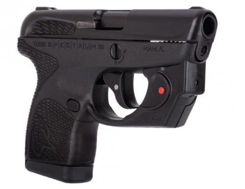 Taurus SPECTRUM .380 ACP BLK/BLK LASER 1007031101VL VIRIDIAN LA