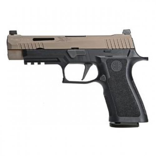 Sig Sauer P320 9MM 4.7 VTAC TWO TONE Flat Dark Earth (3) 17RD