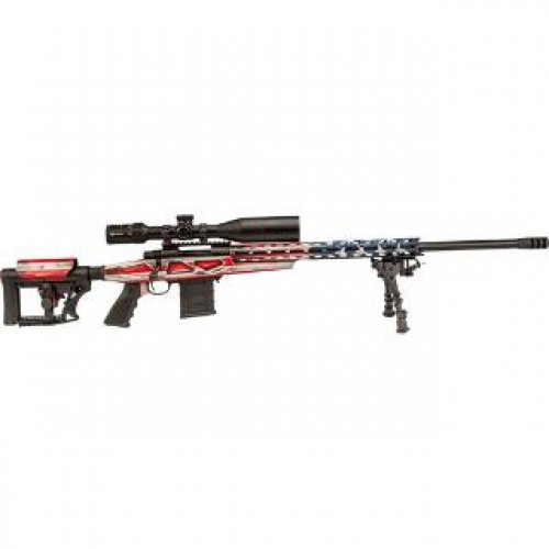 """Howa 1500 HCR Chassis 6.5 CRD 24"""" HB MB FLAG"""