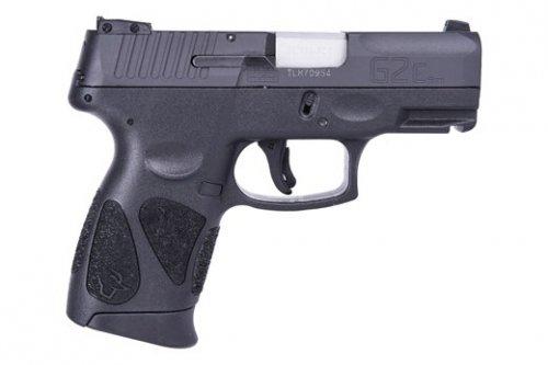 "Taurus - Taurus G2C 9mm Compact 3.2"" Black Fixed Sights 2-10 R"