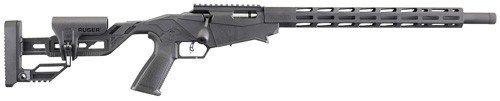 "Ruger Precision Rimfire .17 HMR 18"" Black Adjustable Stock 9+1"