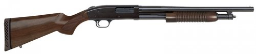 "Mossberg 500 Retrograde 12 GA 18.5"" Cylinder Bore 5+1 Walnut St"