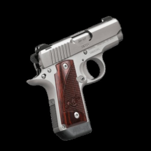 KIMBER .380 ACP MICRO Stainless Steel ROSEWD W/ Night Sights