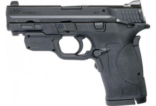 """Smith & Wesson M&P380 Shield EZ .380acp 3.6"""" Crimson Trace Lase"""