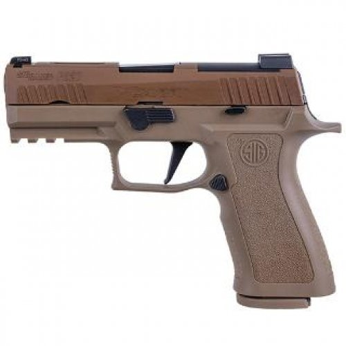 Sig Sauer P320 9MM 3.9 Coyote X Carry 2 17RD Steel Mag