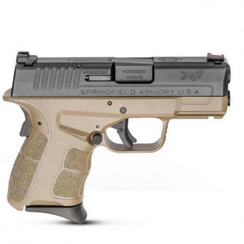 Springfield Armory XD-S Mod.2 9mm Flat Dark Earth Fiber Optic F