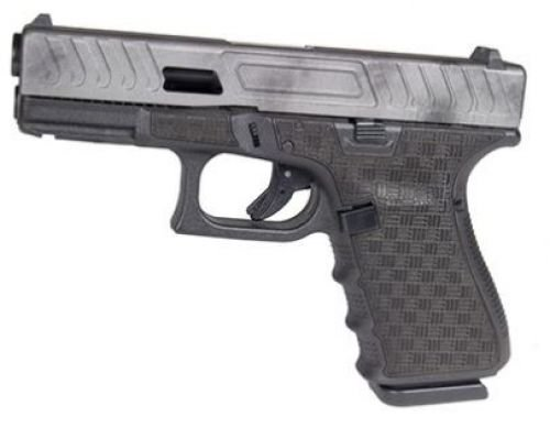 Glock 19 Gen 4 9mm Custom Slide, Tungsten Grey 3-15rd Mags