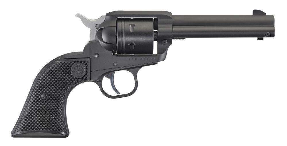 """Ruger Wrangler .22 LR 4.62"""" Black Cerakote"""