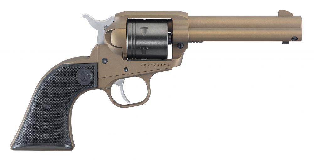 """Ruger Wrangler .22 LR 4.62"""" Burnt Bronze Cerakote"""