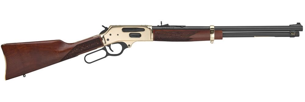 Henry Lever Action Sidegate 30-30 Winchester Brass