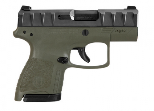 Beretta APX CARRY 9MM ODGRN 6/8RD