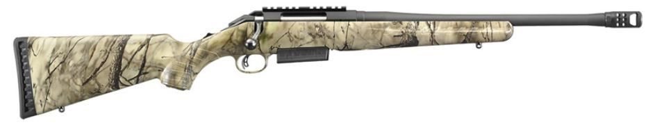 "Ruger American Ranch Rifle .450 Bushmaster 16.1"" Go Wild Camo S"