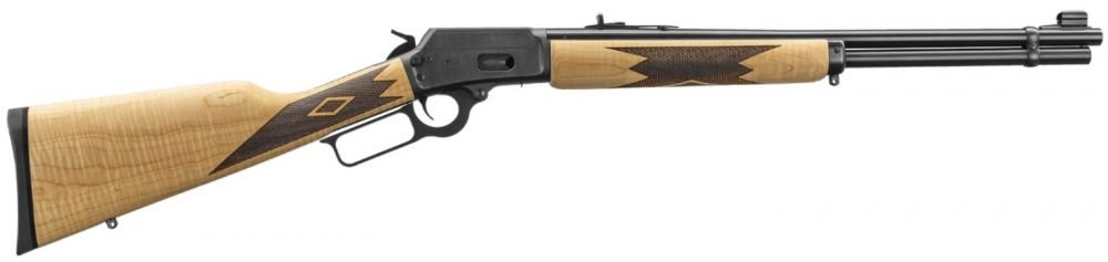 """Marlin 1894CM .44 Rem Mag 20"""" Blue Curly Maple 10+1, 1 of 1000"""