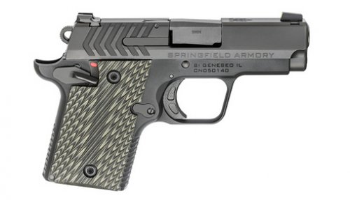 Springfield Armory 911 9MM Pistol 3B 6/7RD