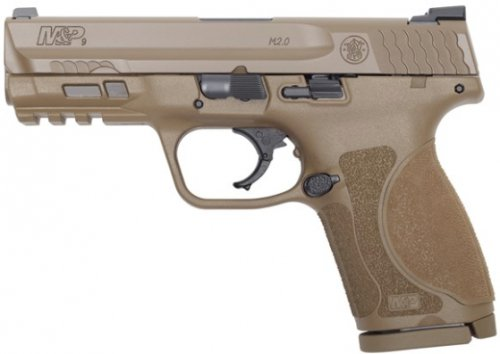 Smith & Wesson MP9 M2.0 Compact 9MM Flat Dark Earth 4 15+1